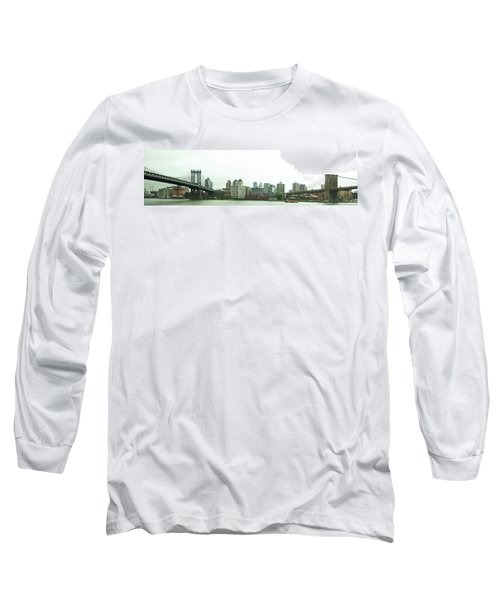 Long Sleeve T-Shirt featuring the photograph Two Bridges by Robert Knight