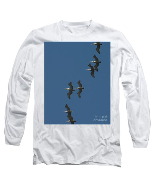 Two By Two Long Sleeve T-Shirt by Marie Neder