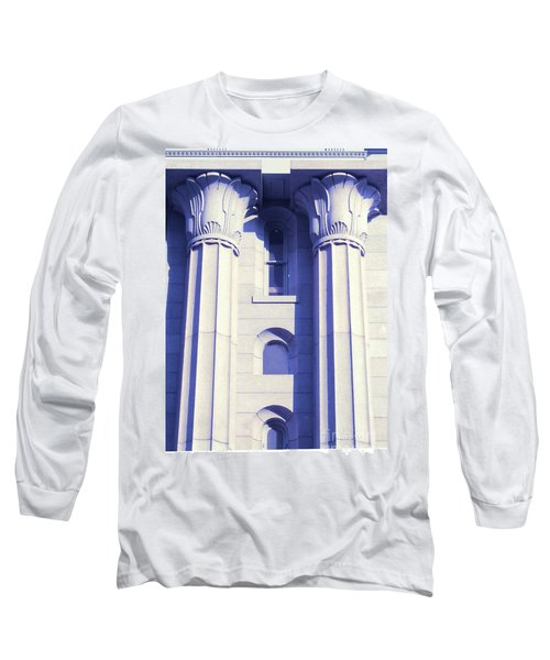 Two Columns Long Sleeve T-Shirt