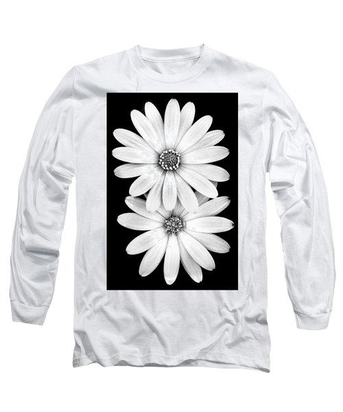 Two Flowers Long Sleeve T-Shirt by Az Jackson