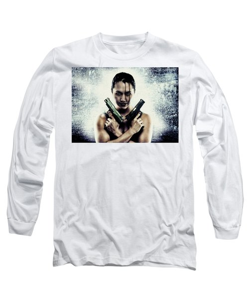 Lara Croft Long Sleeve T-Shirt