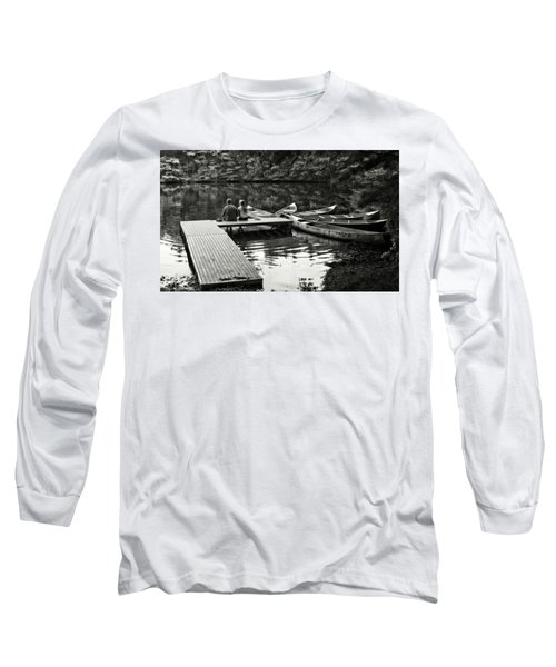 Two In A Boat Long Sleeve T-Shirt by Alex Galkin