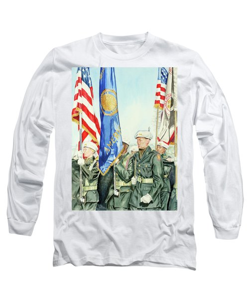 Two Months After 9-11  Veteran's Day 2001 Long Sleeve T-Shirt