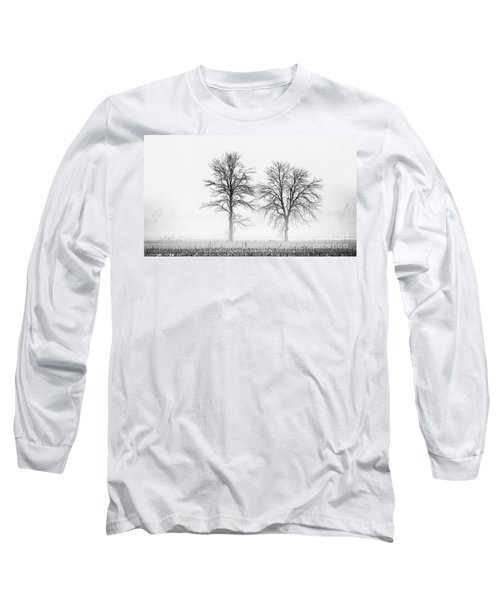 Long Sleeve T-Shirt featuring the photograph Two... by Nina Stavlund