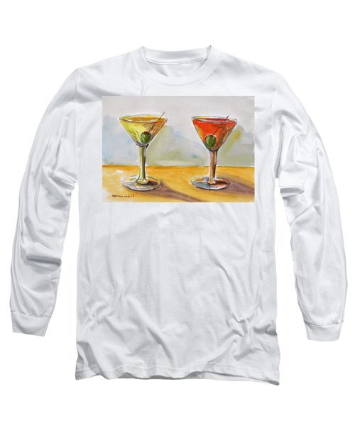 Two Perfect Martinis Long Sleeve T-Shirt
