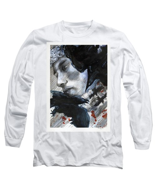 Two Ravens Bringing Blood To The Skies  Long Sleeve T-Shirt