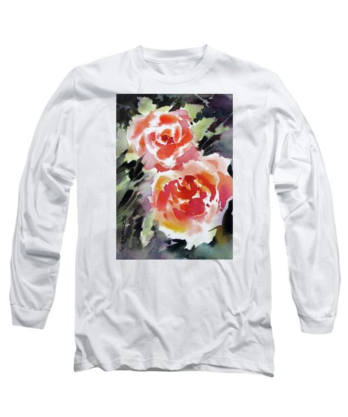 Two Red Beauties Long Sleeve T-Shirt
