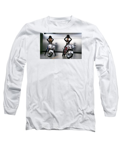Two To Go And Go And Go. Long Sleeve T-Shirt by Lawrence Christopher