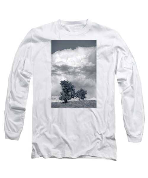 Two Trees #9249 Long Sleeve T-Shirt by Andrey Godyaykin