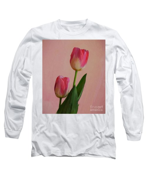 Two Tulips For You Long Sleeve T-Shirt