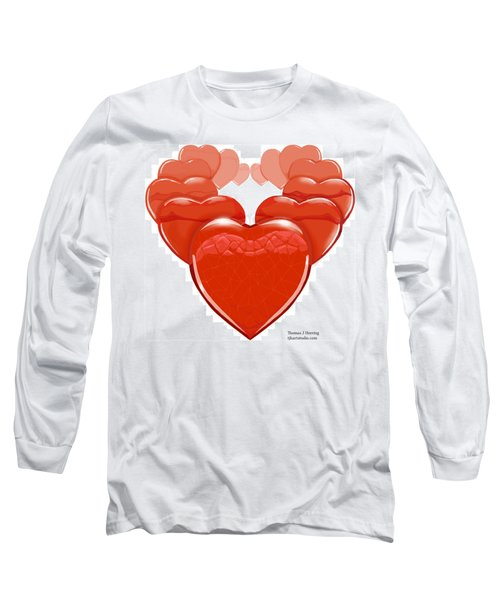 Two Hearts Become One Long Sleeve T-Shirt