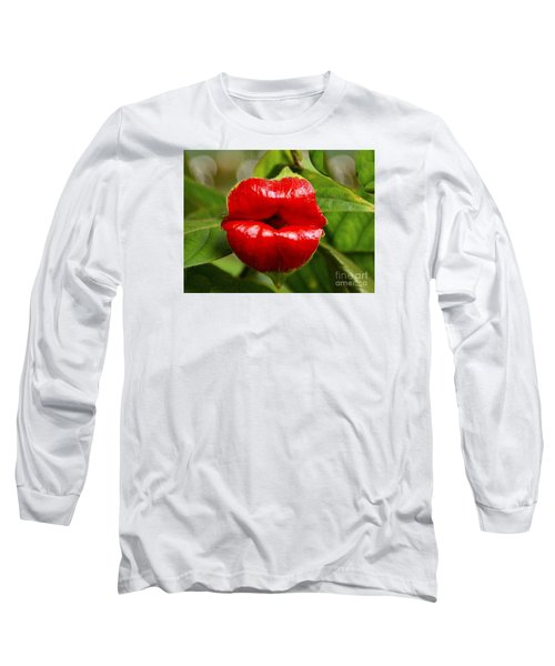 Twolips  - Floral Oddity Long Sleeve T-Shirt by Merton Allen