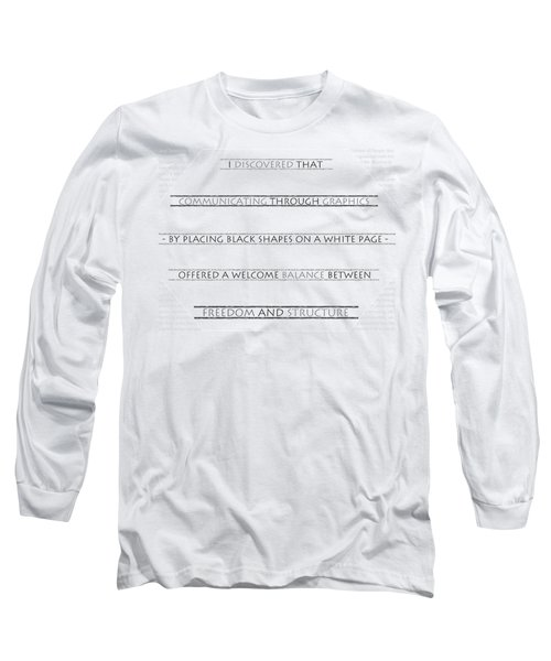 Twombly Long Sleeve T-Shirt by Thomasina Durkay