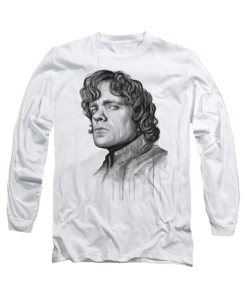 Tyrion Lannister Long Sleeve T-Shirt by Olga Shvartsur