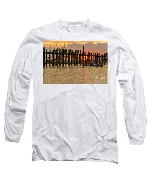 U-bein Bridge Long Sleeve T-Shirt by Werner Padarin