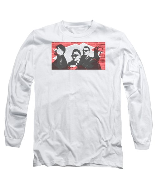 U2 Graffiti Tribute Long Sleeve T-Shirt