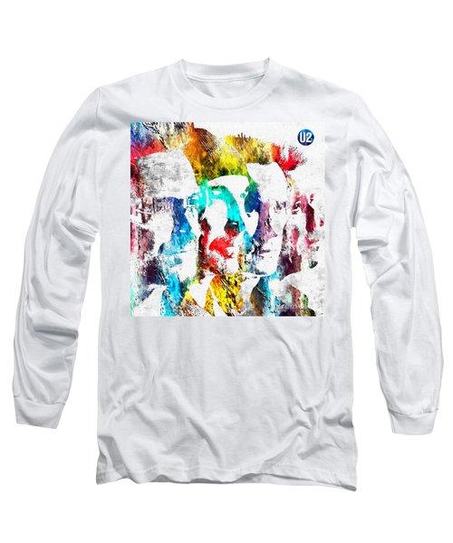 U2 Grunge Long Sleeve T-Shirt
