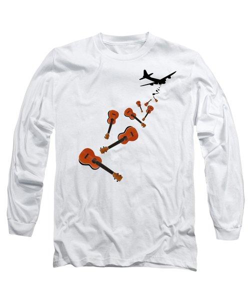 Ukes Not Nukes Long Sleeve T-Shirt