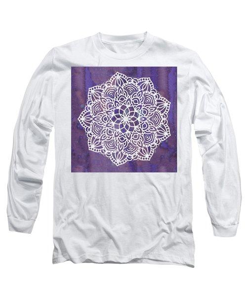 Ultraviolet Mandala Long Sleeve T-Shirt