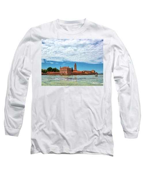 Under A Cloud Mattress Long Sleeve T-Shirt