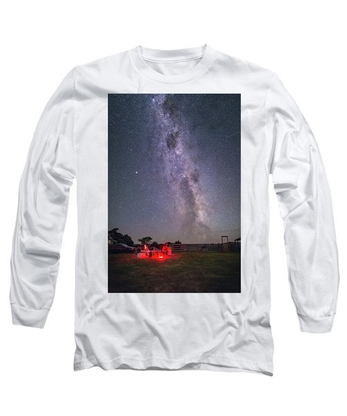 Under Southern Stars Long Sleeve T-Shirt by Alex Conu
