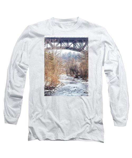 Under The Arch Long Sleeve T-Shirt by Ellen Levinson