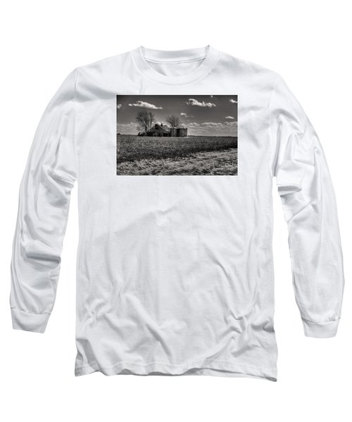 Long Sleeve T-Shirt featuring the digital art Under The Crush Of The Lowering Sky by William Fields