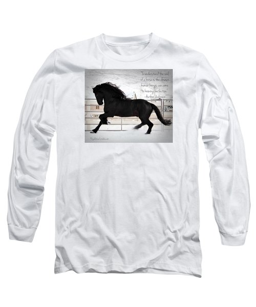 Understand The Soul Of A Horse Long Sleeve T-Shirt