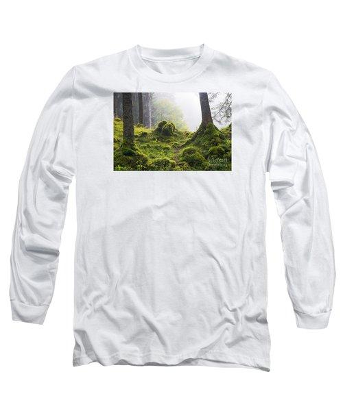Underwood Long Sleeve T-Shirt by Yuri Santin