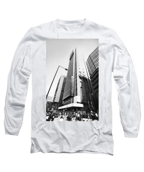 Union Bank Hq, Marina Long Sleeve T-Shirt