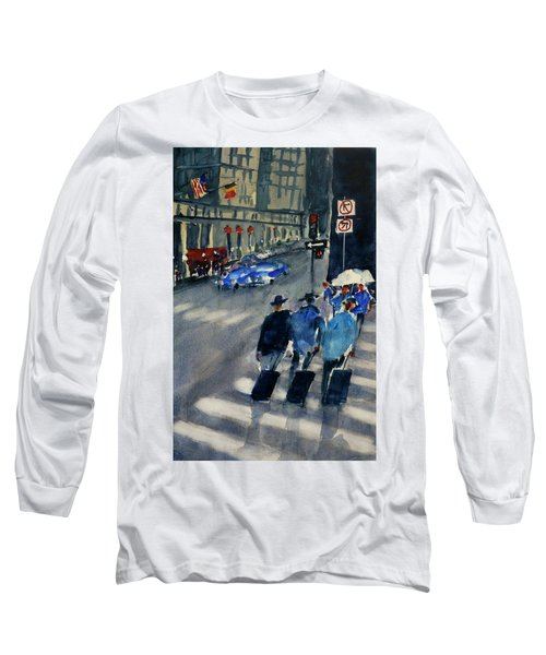 Union Square1 Long Sleeve T-Shirt by Tom Simmons
