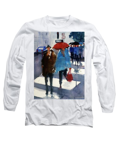 Union Square9 Long Sleeve T-Shirt by Tom Simmons