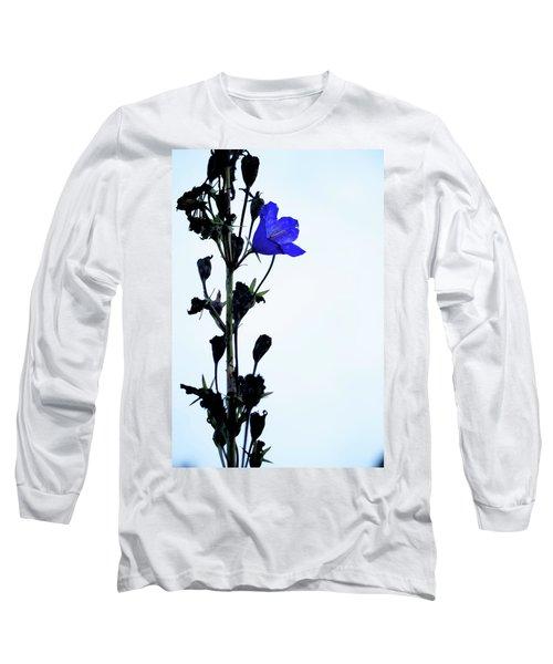 Unique Flower Long Sleeve T-Shirt by Teemu Tretjakov
