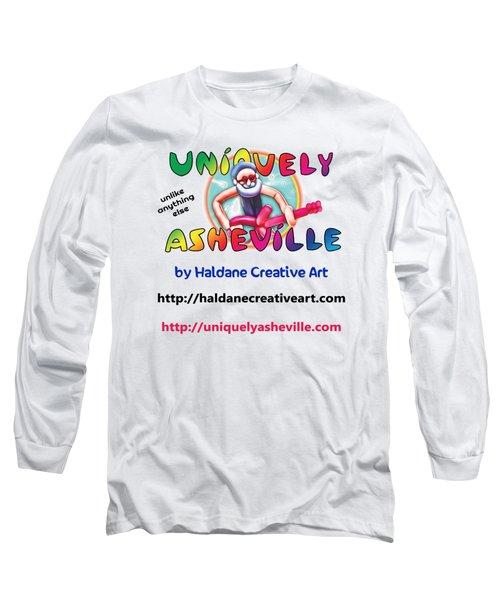 Uniquely Asheville Square Long Sleeve T-Shirt by John Haldane