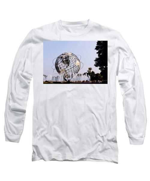 Unisphere Fountain Long Sleeve T-Shirt