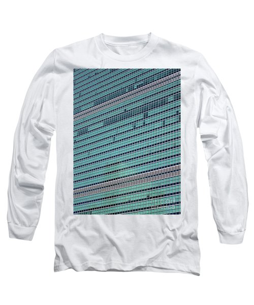 Long Sleeve T-Shirt featuring the photograph United Nations 2 by Randall Weidner