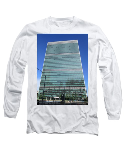 Long Sleeve T-Shirt featuring the photograph United Nations 3 by Randall Weidner