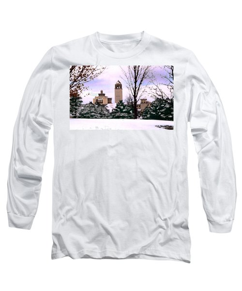 Long Sleeve T-Shirt featuring the photograph Unity Village by Steve Karol