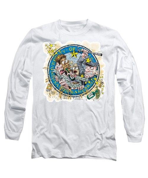 University Of California At Santa Barbara Seal Long Sleeve T-Shirt