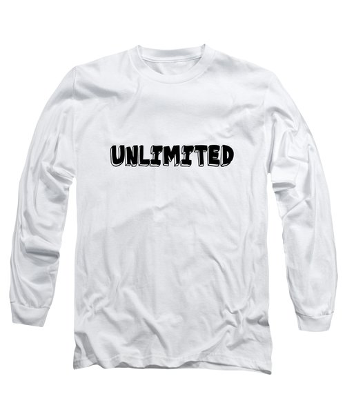 Unlimted Long Sleeve T-Shirt