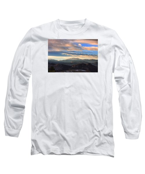 The Unmatched Beauty Of The Colorado Rockies Long Sleeve T-Shirt