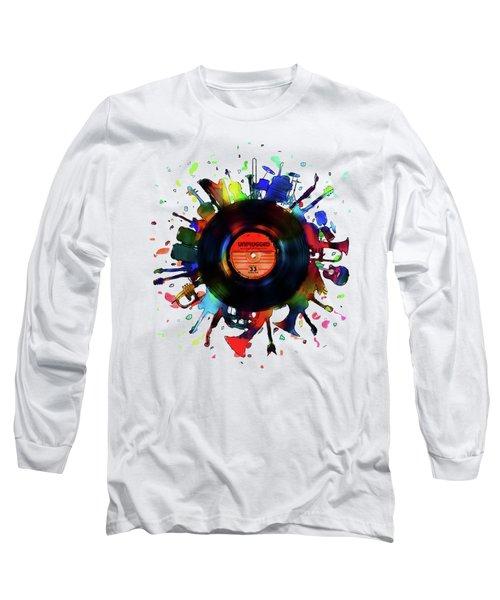 Unplugged Long Sleeve T-Shirt by Mustafa Akgul