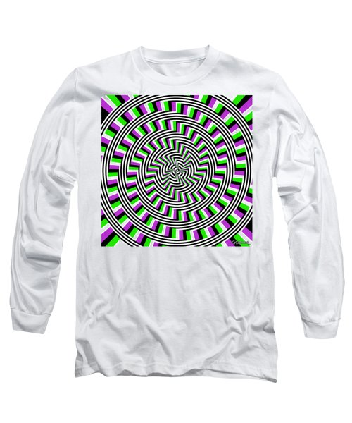Self-moving Unspiral Long Sleeve T-Shirt