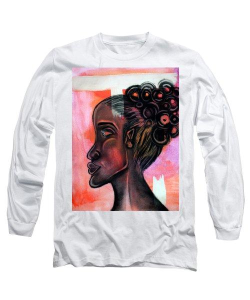 Untitled Lady II Long Sleeve T-Shirt