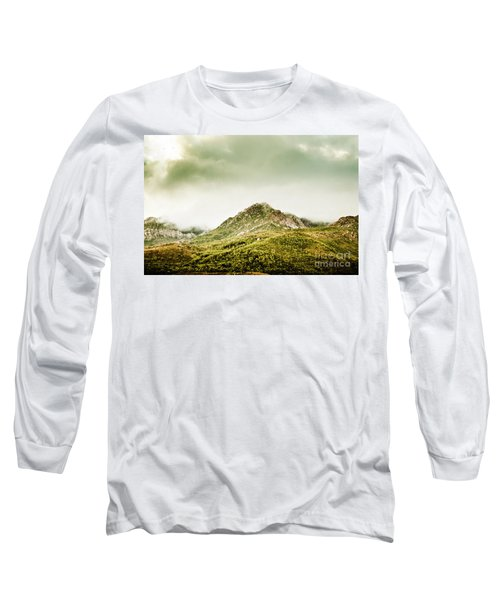Untouched Mountain Wilderness Long Sleeve T-Shirt