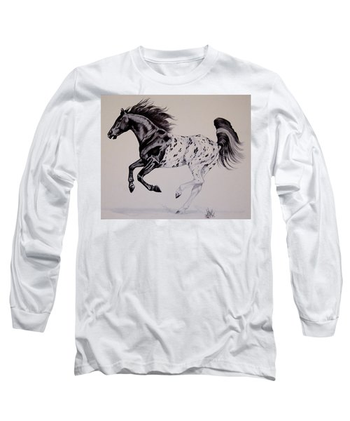 Up Close And Personal With Appaloosa's Long Sleeve T-Shirt