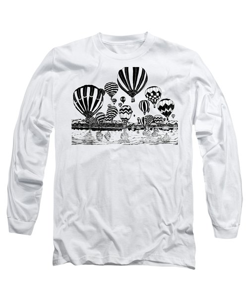Up In The Air Long Sleeve T-Shirt by Vicki  Housel