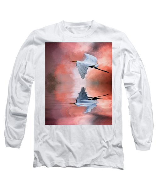 Up. Up And Away Long Sleeve T-Shirt by Cyndy Doty