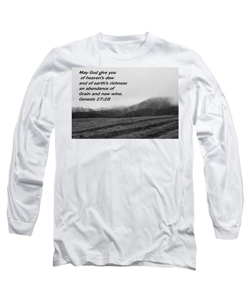 Uplifting Fog Long Sleeve T-Shirt