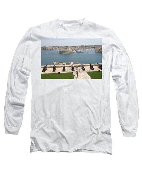 Upper Barrakka Saluting Battery Long Sleeve T-Shirt